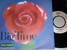 "7"" - Peter Gabriel/Big Time & Curtains-MINT 1987 # 2152"