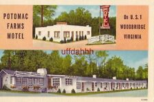 POTOMAC FARMS MOTEL, on U.S. 1, WOODBRIDGE, VA. Mr & Mrs O. M. Horneland, Owners