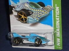 Hot Wheels 2013 HW Imagination - Surf Patrol #72 Hammer Down - Blue & White