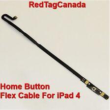 Home Button Flex Cable Ribbon Repair Parts For iPad 4  - CANADA