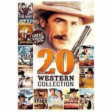 20-Film Western Collection V.3 by John Wayne, Roy Rogers, Sam Elliott, Lee Van