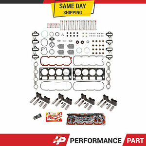 Chevy GM 5.3L AFM DOD Replacement Kit Trays Head Bolts Gaskets Lifters VLOM