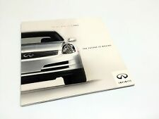 2003 Infiniti G35 Sedan Launch Preview October 2001 Print Brochure