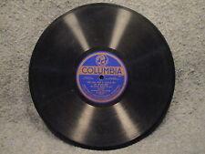 "78 RPM 10"" Record Al Jolson Theres A Lump Of Sugar Down In Dixie Columbia A2491"