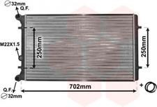 Kühler, Motorkühlung für Kühlung VAN WEZEL 03002155