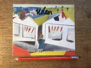 Large Sidney Nolan Exhibition Invitation Card Eva Breuer 2002