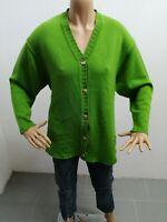 Cardigan ROCCOBAROCCO  donna taglia size 44 sweater pull maglia woman lana  6037