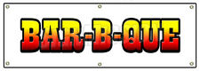 "72"" BAR-B-QUE BANNER SIGN barbque bbq smoker signs chicken ribs pork southern"
