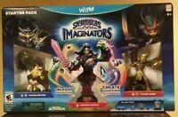 Skylanders Imaginators: Starter Pack Nintendo Wii U 2016 Brand New Sealed Gift