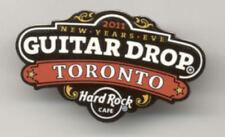 Hard Rock Cafe Toronto New Years Eve Guitar Drop 2011 Pin