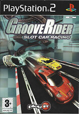GROOVERIDER SLOT CAR RACING for Playstation 2 PS2 - with box & manual - PAL
