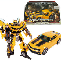 TRANSFORMERS BUMBLEBEE HUMAN ALLIANCE ROBOT TRUCK CAR ACTION FIGURES KID