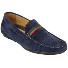 Calzado de hombre mocasines de ante color principal azul