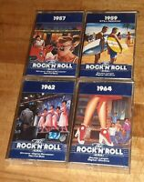 Lot Of 4 Time Life Music The Rock N Roll Era Cassette Tapes 1957 1959 1962 1964