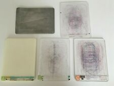New listing Cuttlebug A Spacer / Cricut B & C Plate Adapters Die Cutting Machine Pads Lot 5