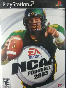 NCAA Football 2003 - Playstation 2 PS2 Game - Complete & Tested