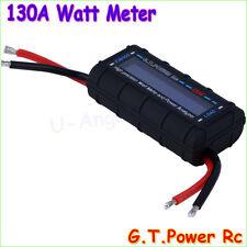 GT Power LCD RC 130A Watt Meter Power Analyzer Watts Up Battery Balance Ampere