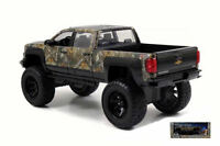 Realtree Chevy Silverado 2014 W/ Hunting Dog Camouflage Design 1:24 Model