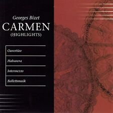 GEORGES BIZET : CARMEN (HIGHLIGHTS) / CD - TOP-ZUSTAND