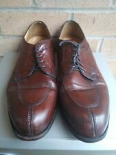 Bostonian Crown Windsor Mens Leather Cap Toe Oxfords Shoes Size 11.5 B