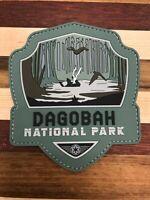 Star Wars, Dagobah National Park Patch, 3D PVC Rubber