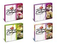 Turkish Delight Lokum Varieties of Pistachios, Rose, Mixed Fruits 1lb Box