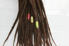 3 dread tubes in rasta colours - beads for dreadlocks - dreadlock accessory - dr