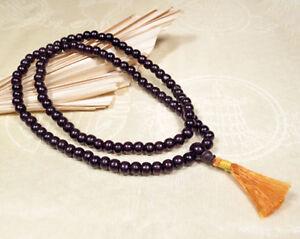 Traditionelle Gebetskette - Rosenholz Mala - Buddhistisch - Nepal Tibet