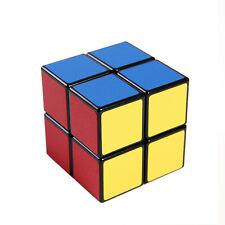 Black 2x2x2 Magic Cube Professional ABS Speed Cube Puzzle Twist Brain Xmas Gifts