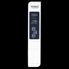 Water Test Meter 0-9990 ppm Accurate Reliable Ideal Tds Ec Temperature 3 in 1