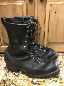 White's Boots Smoke Jumper Firefighting Hiking Workboots Size USA 11 D | Uk 10