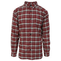 Columbia Men's Apple Red Cornell Woods L/S Flannel (Retail $60)