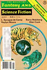 Fantasy and Science Fiction SPRAGUE DE CAMP Barry Malzberg ASIMOV Glen Cook 1978