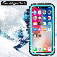 Waterproof Dustproof Full-Protect Phone Case Cover Hard Case for iPhone XS/X
