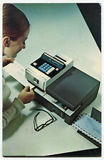 Unusual PITNEY-BOWES Postcard: 1969 Postmasters Convention & New Postal Meter
