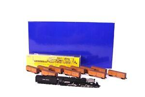 Set American Z Line UP Challenger AZL 17051 #3942 Dampflokomotive Messing Spur Z