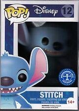 Funko pop Stitch 12 Lilo & y figura Flocked Disney cine dibujos animados