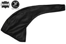 BLACK STITCH LEATHER SKIN HANDBRAKE GAITER FITS FORD TRANSIT TOURNEO 1996-2000