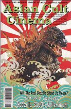 ASIAN CULT CINEMA NUMBER 26 2000 GODZILLA 2000: MILLENNIUM KAMEN RIDER DANNY LEE