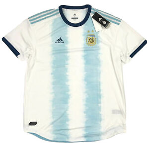 Adidas Men's 2019 Authentic Argentina National Team Home Jersey DP0225 Size XL