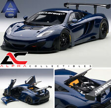 AUTOART 81344 1:18 MCLAREN 12C GT3 AZURE BLUE SUPERCAR