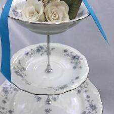 Wedding 3 Tier Cake Stand,Bridal Gift, Tier Serving Tray, Haviland Blue Garland