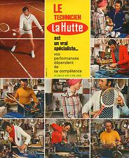 Publicité 1973  LA HUTTE  magasin de sport .. ..