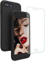 Coque Silicone Anti-Choc Anti-Rayure iPhone 7 Plus / 8 Plus + Protecteur écran