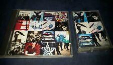 U2 ACTUNG BABY israeli first press  lot cd + cassette RARE BNE bono