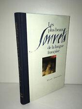 Jean Orizet LES PLUS BEAUX SONNETS DE LA LANGUE FRANCAISE 2000 TBE - CA53A