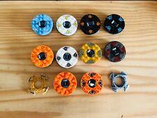 10 X LEGO NINJAGO SPINNERS + SPINNER CROWNS LOT