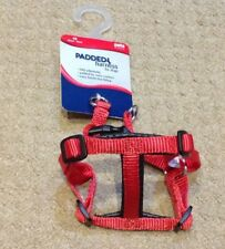 PADDED HARNESS FOR DOGS XS RED