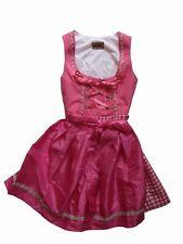 Stockerpoint Dirndl Judy2 pink 34 36 42 44 Tracht Kleid Wies kurz rosa weiß Mini