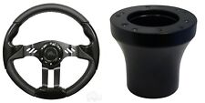 Club Car Precedent Aviator 5 Steering Wheel Kit (Black Grip with Black Spokes)